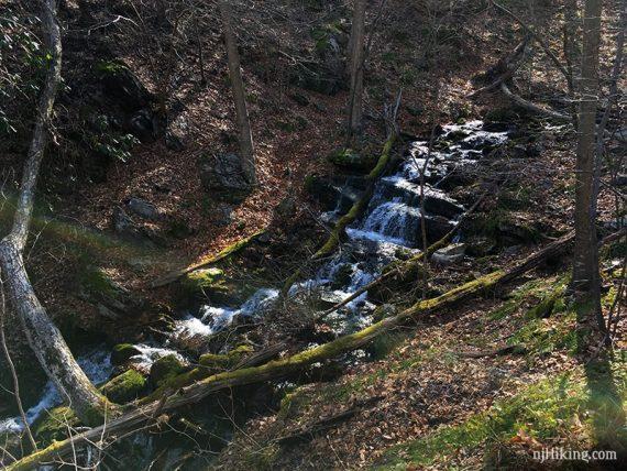 Laurel Falls, uppermost cascade