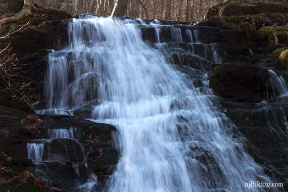 Close up of Laurel Falls, lower.