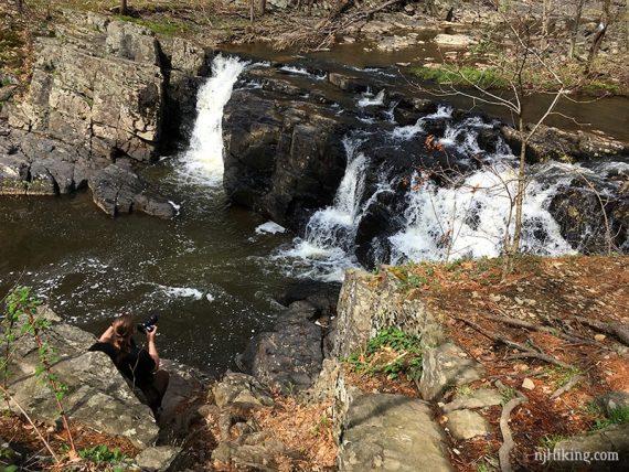 Lockatong High Falls