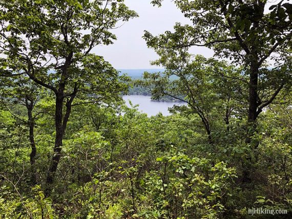 Second limited view on Appalachian Trail