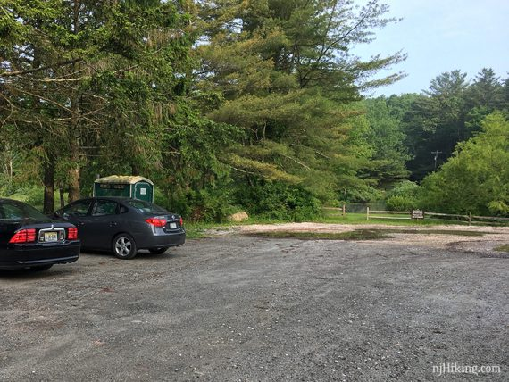 Red Maple parking area on Struble Road