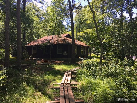 Approaching Mohican Outdoor Center