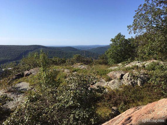 View along Seven Hills