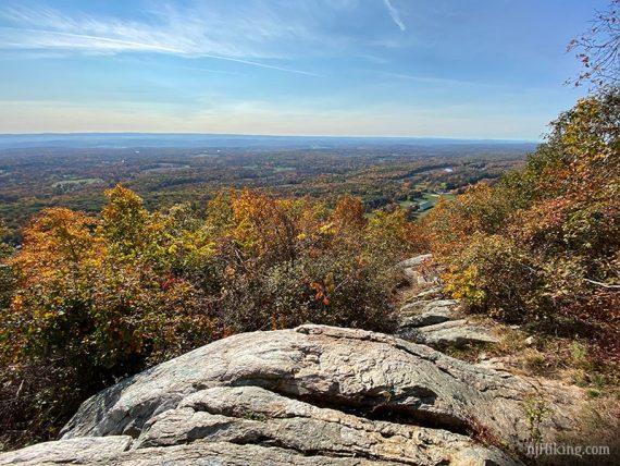 Fall foliage from Sunrise Mountain