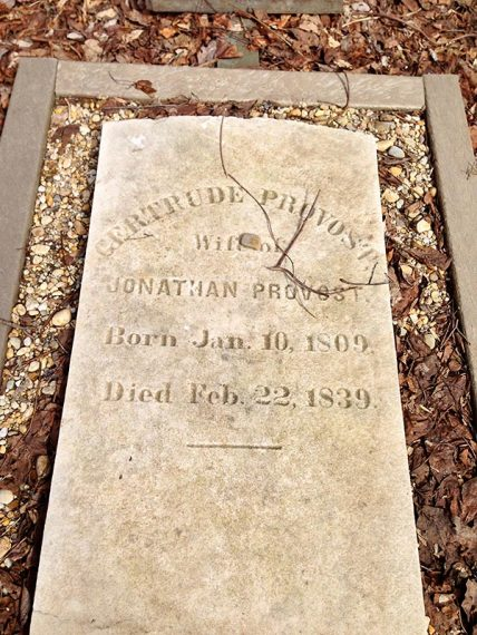 Gertrude Provost grave
