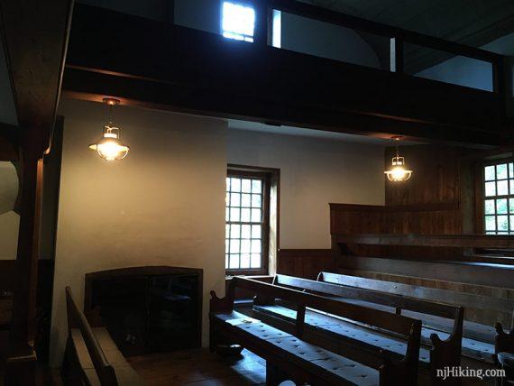 Meeting House interior