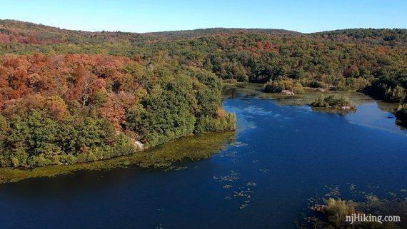 Overlooking Butler Reservoir - Apshawa Preserve