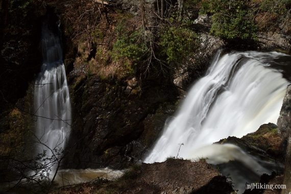 Raymondskill Middle Falls