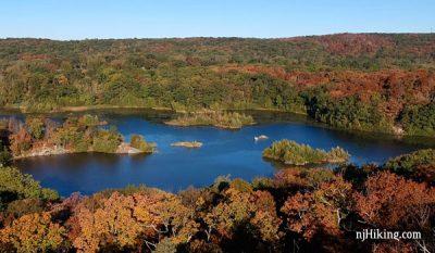 Overlooking Butler Reservoir
