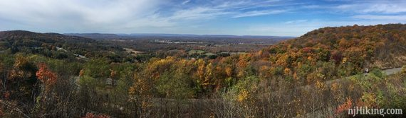 Foliage from the Rt. 80 Scenic Overlook