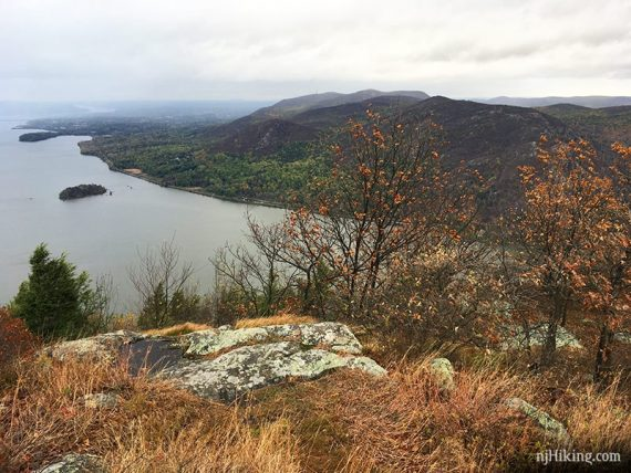 Storm King view over the Hudson River