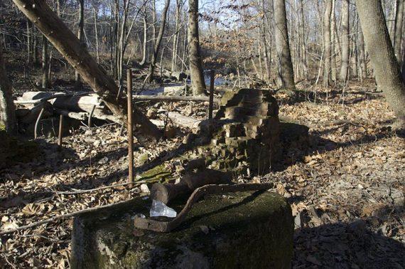 Remains of a mill
