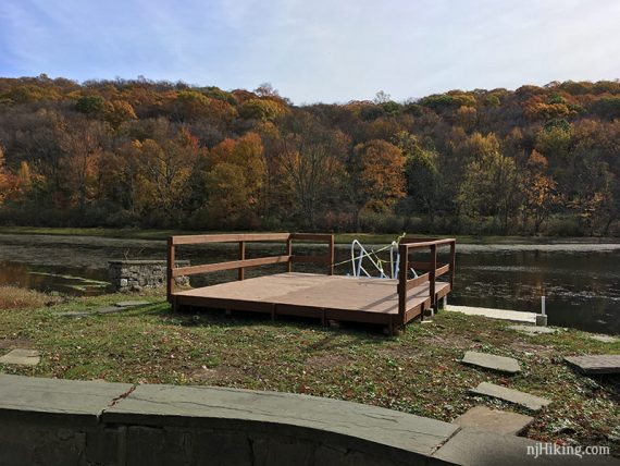Dock at the pond