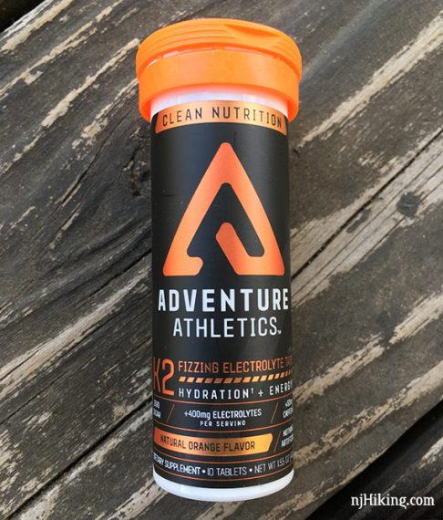 Adventure Athletic electrolyte tablets