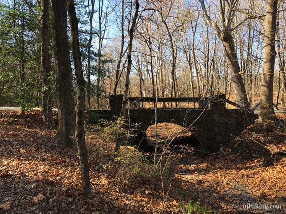 Bridge near YELLOW DOT