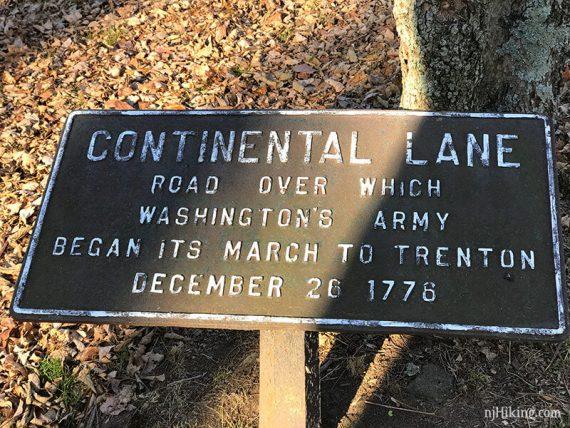 Continental Lane Trail/RED DOT