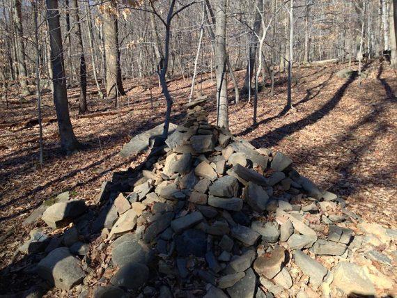 Large pile-o-rocks at Marker 7