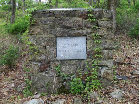 Stark's Brigade encampment site, Mt Kemble Loop Trail