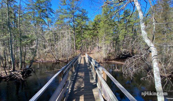 Bridge on Tom's Pond Trail