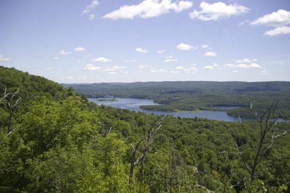 View of Wanaque Reservoir