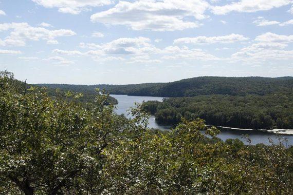 View of Split Rock Reservoir from Indian Cliffs