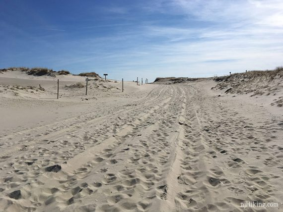 P23 to Barneget Inlet Beach Walk
