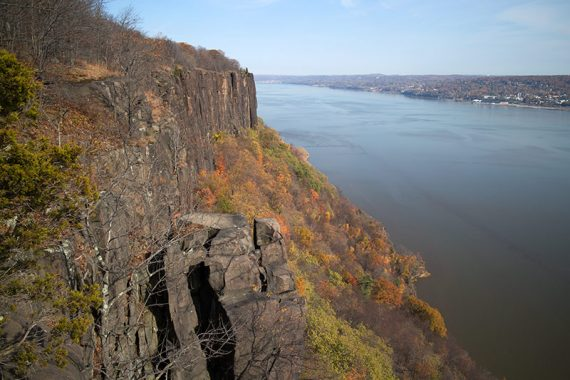View of the Palisades