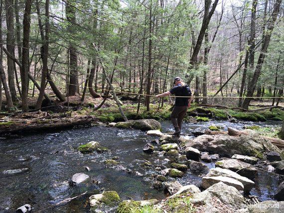Crossing Jennings Creek
