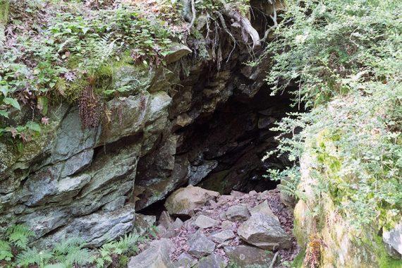 Old mine entrance