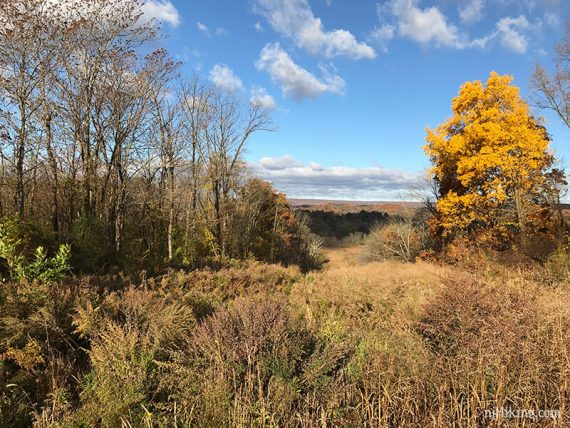 Wallkill Valley with the Kittatinny Ridge in the distance