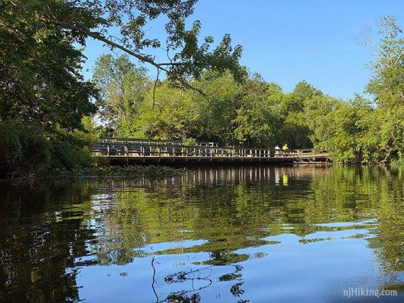 Bridge near Carnegie Lake