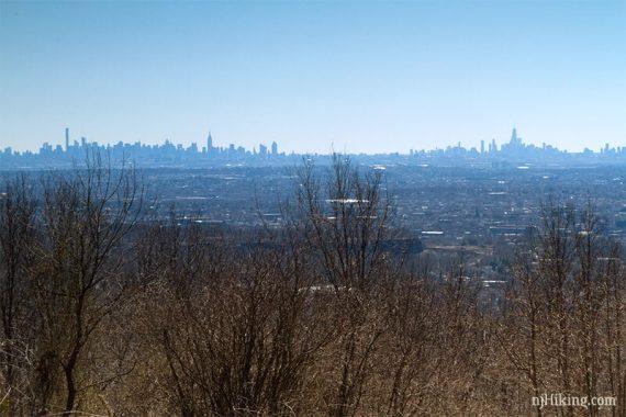 View of NYC skyline