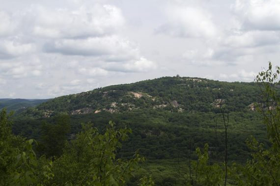 View of Perkins Tower on Bear Mountain