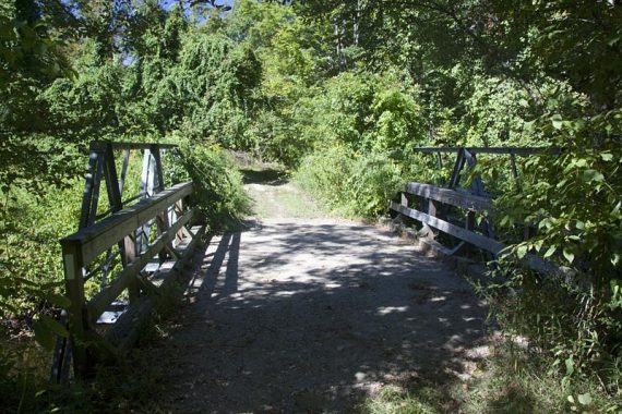 Bridge just before getting on Iron Mountain trail