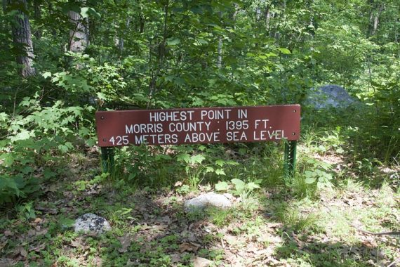 Highest point in Morris County