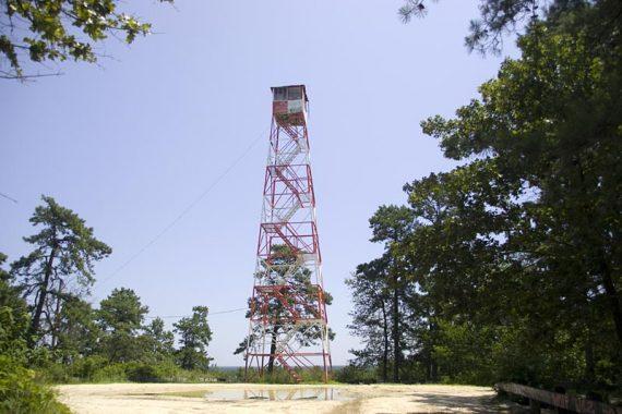 Apple Pie Hill Fire tower