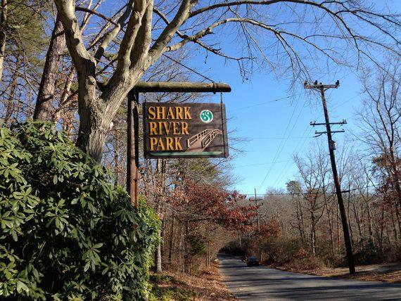 Entrance to Shark River Park
