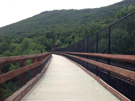 Bridge in Lehigh Gorge