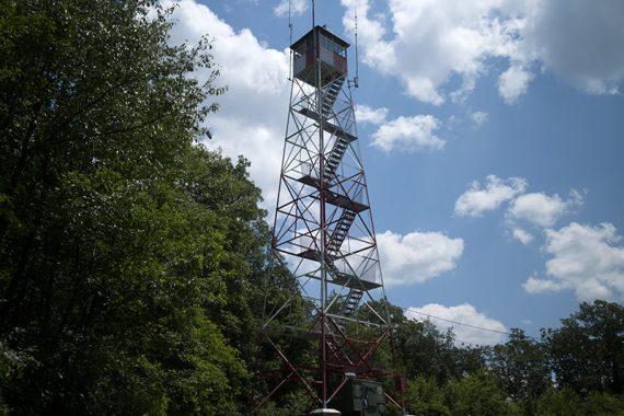 95-Mile Tree Lookout Tower on PURPLE