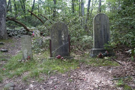 Cemetery on Beech Trail