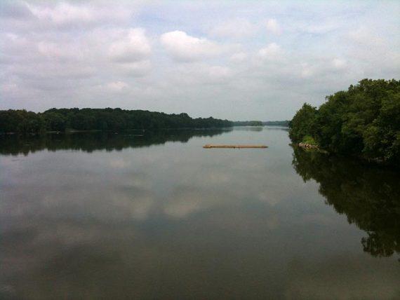 View from Calhoun Bridge