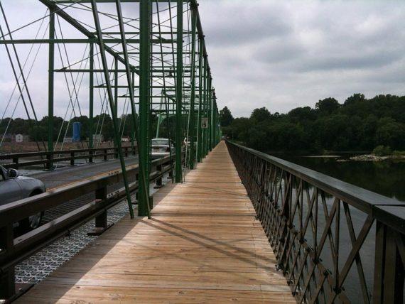 Crossing Calhoun Bridge
