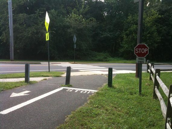 End of the Henry Hudson Trail