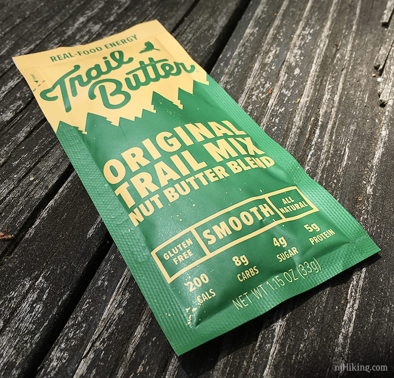 Trail butter packet