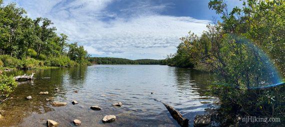 Panorama of Sunfish Pond
