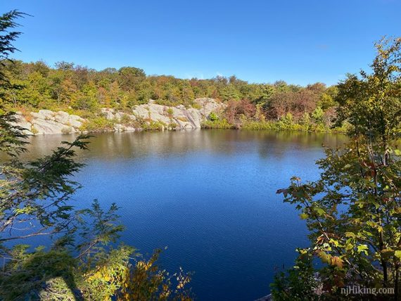 Terrace Pond in Fall
