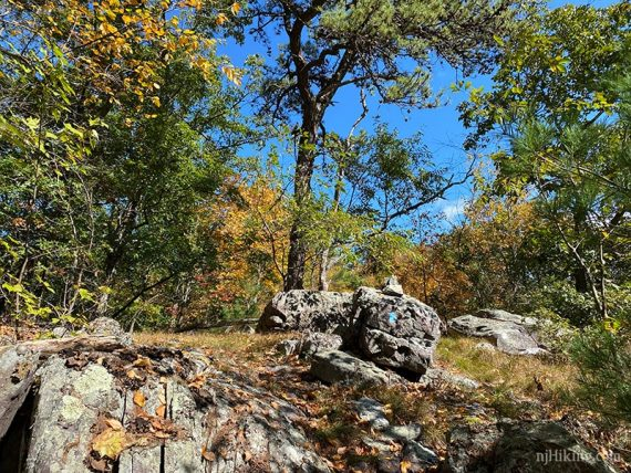 Rugged and rocky trail