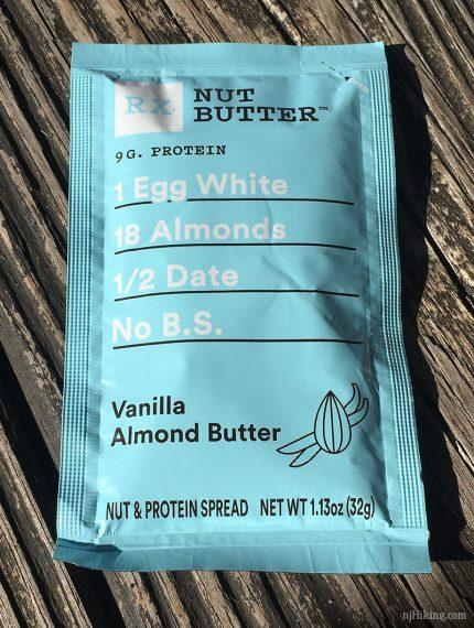 RXBAR nut butter packet