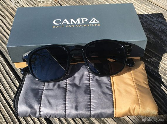 CAMP Topo sunglasses and sleeping bag case