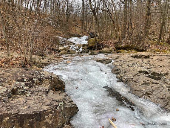 Frozen Hemlock Brook